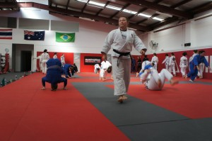 Judo with 5 x Olympian Maria Pekli. Photo @ Jess Fraser