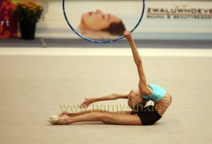 Rhythmic gymnastics...a sport for muppets
