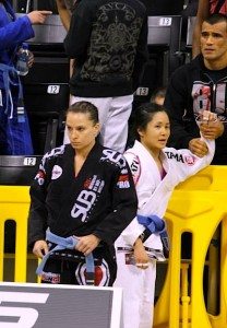Usually having Cobrinha coach against me would intimidate me. This time though, I was not fazed one bit. IN THE ZONE!