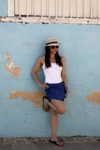 liv blue 1 leg model