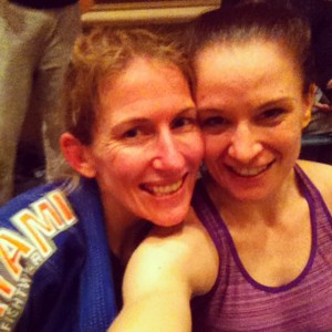 Kate Wilson - a friend and my competitor